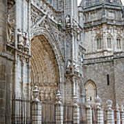 Gothic Splendor Of Spain Print by Joan Carroll