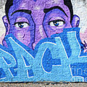 Graffiti Art Santa Catarina Island Brazil Print by Bob Christopher