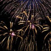 Grand Fireworks Print by Chandru Murugan