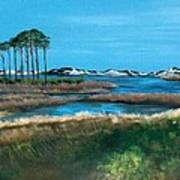 Grayton Beach State Park Print by Racquel Morgan