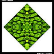 Green Banana Print by Roberto Alamino