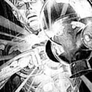 Green Lantern Print by Ken Branch