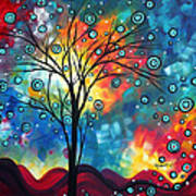 Greeting The Dawn By Madart Print by Megan Duncanson