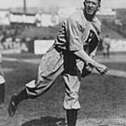 Grover Cleveland Alexander 1915 Print by Unknown