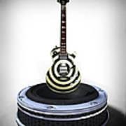 Guitar Desplay V2 Print by Frederico Borges