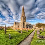 Gwyddelwern Church Print by Adrian Evans