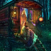 Gypsy Firefly Print by Aimee Stewart