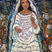 Hail Mary Print by Jen Norton