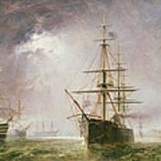 Half Mast High 19th Century Print by  Robert  Dudley