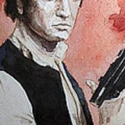 Han Solo Print by David Kraig