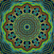 Healing Mandala 19 Print by Bell And Todd