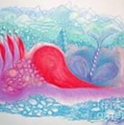 Heart Land Print by Mademoiselle Francais