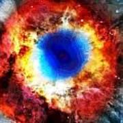 Helix Nebula Print by Dan Sproul