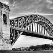 Hell Gate Bw Print by JC Findley