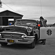 Highway Patrol 5 Print by Tommy Anderson