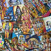 Hindu Deity Posters Print by Tim Gainey