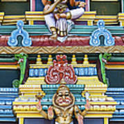 Hindu Temple Deity Statues Print by Tim Gainey