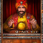 Hobby - Have Your Fortune Told Print by Mike Savad