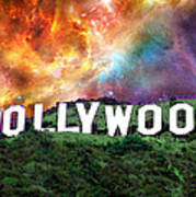 Hollywood - Home Of The Stars By Sharon Cummings Print by Sharon Cummings