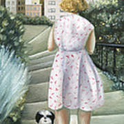 Home Study Print by Caroline Jennings