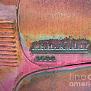 Homestead Chev Print by Jerry McElroy