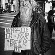 Honesty Print by Erik Brede