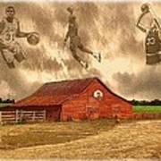 Hoop Dreams Print by Charles Ott
