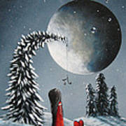Hope Is On Her Way By Shawna Erback Print by Shawna Erback