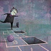 Hopscotch2 Print by Dennis Wunsch