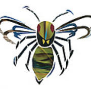 Hornet Print by Earl ContehMorgan