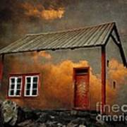 House In The Clouds Print by Sonya Kanelstrand