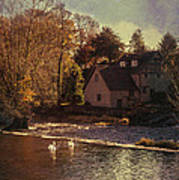 House On The River Print by Amanda And Christopher Elwell