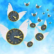 How Time Flies Print by Juli Scalzi