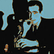 Humphrey Bogart And The Maltese Falcon 20130323p88 Print by Wingsdomain Art and Photography