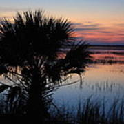 Hunting Isalnd Tidal Marsh Print by Michael Weeks
