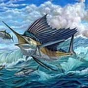 Hunting Sail Print by Terry Fox