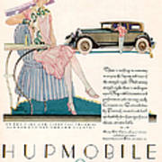 Hupmobile 1927 1920s Usa Cc Cars Print by The Advertising Archives