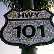 Hwy 101 Print by Glenn McNary