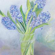 Hyacinths Print by Sophia Elliot