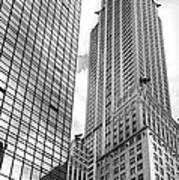 Hyatt And Chrysler Print by David Bearden