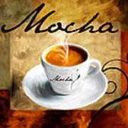 I Like  That Mocha Print by Lourry Legarde