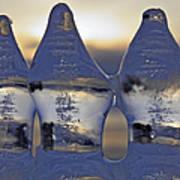 Ice Trio Print by Sami Tiainen