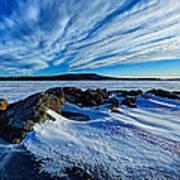 Icebound 7 Print by Bill Caldwell -        ABeautifulSky Photography
