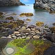 Iceland Rocky Coast Landscape Print by Dirk Ercken