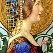 If One Could Have That Little Head Of Hers Print by Eleanor Fortescue Brickdale