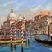 Il Canal Grande Print by Guido Borelli