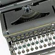 Imagination Typewriter Print by Rudy Umans