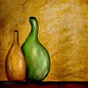 Imperfect Vases Print by Brenda Bryant