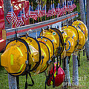 In Memory Of 19 Brave Firefighters  Print by Rene Triay Photography