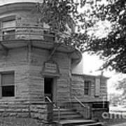 Indiana University Kirkwood Observatory Print by University Icons